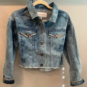 Cupcakes and Cashmere Denim Jacket NWT
